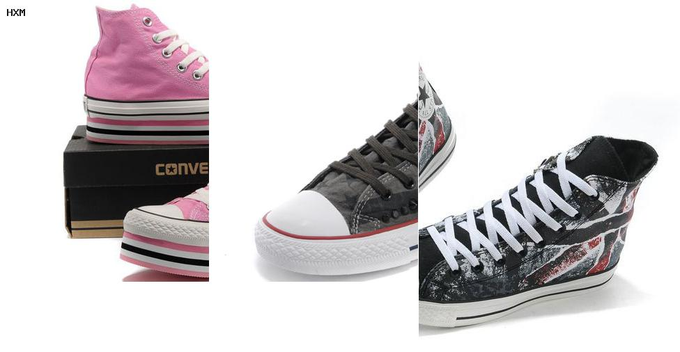 chaussures converse cuir