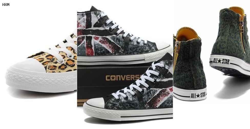 chaussure converse verte basse