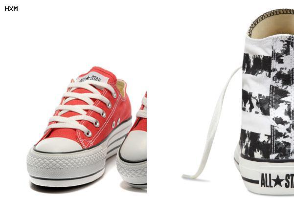 chaussure imitation converse femme